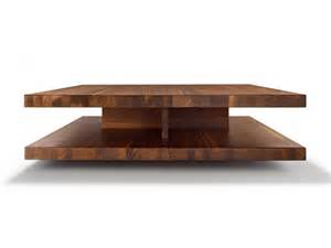 Square Wooden Coffee Table Low Square Wooden Coffee Table C3 By Team 7 Nat 220 Rlich Wohnen Design Sebastian Desch