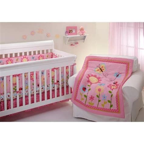 Ladybug Crib Bedding Set Bedding By Nojo Miss Ladybug Crib Bumper Walmart Baby Nursery