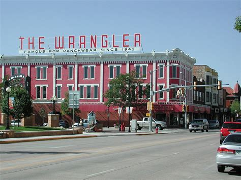 480 Square Feet by File The Wrangler Cheyenne Wy Jpg Wikimedia Commons