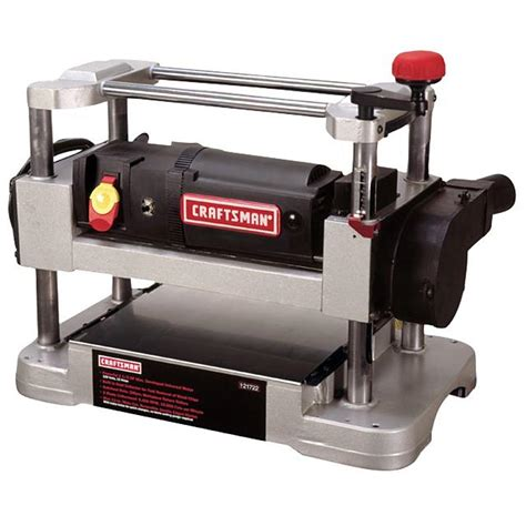 bench planer craftsman 21722 12 in planer bench top sears outlet