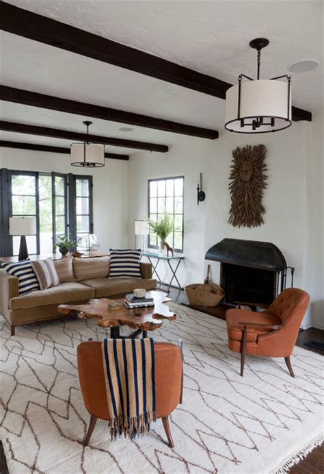spanish living room los feliz hills spanish colonial mediterranean living