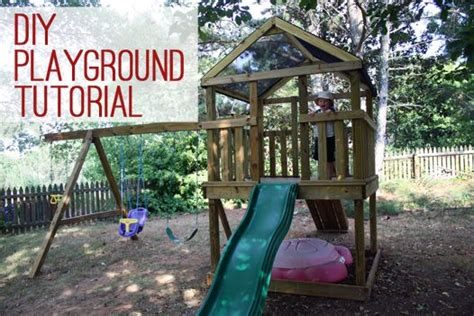 swing set roof plans 9 diy wooden swing set plans for your backyard the roof