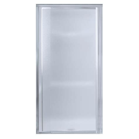 Sterling Pivot Shower Door Installation Sterling Plumbing Vista Pivot Ii 36 In X 65 1 2 In Framed Pivot Shower Door In Silver 1500d