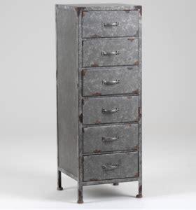 meubles amadeus vente en ligne chiffonnier en bois imitation zinc de la marque amadeus en