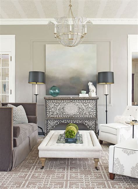 Grey Home Decor by Decorating Gorgeous Gray Rooms Traditional Home