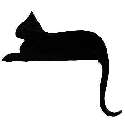 cat silhouette template black cat templates sitting cat template cats