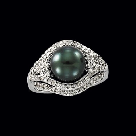 tahitian black pearl ring make a statement with jewelry
