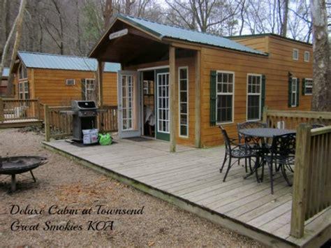 townsend great smokies koa cabin rental family focus