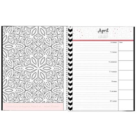 2016 Coloring Book Calendar Designer Organizers