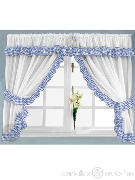 Best 25 Blue Kitchen Curtains Ideas On Pinterest Blue And White Kitchen Curtains