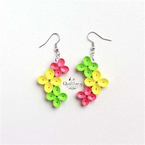 Paper Craft Paper Quilling Handmade Jewelry Earrings - 25 best ideas about paper quilling jewelry on