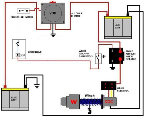 12 volt marine battery switch wiring diagram get free
