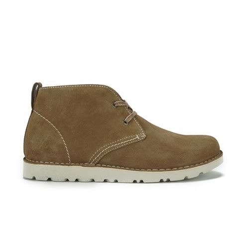 birkenstock boots mens birkenstock s harris suede desert boots nut clothing