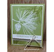1000  Ideas About Stamped Christmas Cards On Pinterest