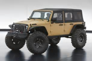 Jeep Parts Utah Jeep Unveils Wrangler Concepts Before Moab
