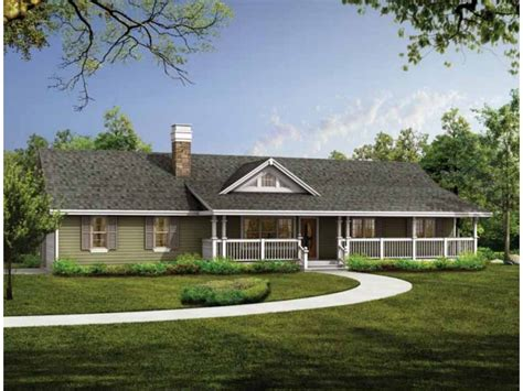 Ranch Style House Plans With Porch | ranch house plans with porch smalltowndjs com