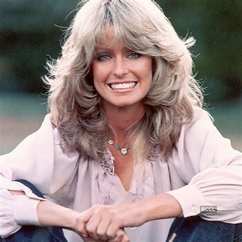 feathered 1970 hair farrah fawcett hair on quotes quotesgram