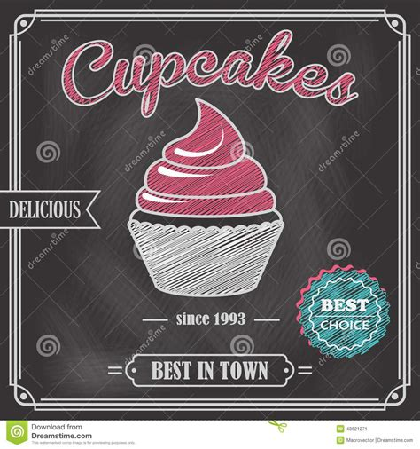 Cupcake clipart chalkboard - Pencil and in color cupcake ... Free Clipart Cupcakes