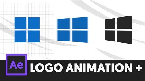 tutorial after effects logo animation minimal logo animation intro after effects tutorial