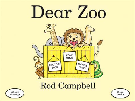 Dear Zoo Big Book dear zoo for digital storytime s review