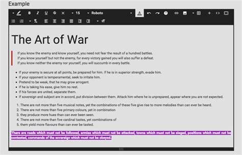 material design wysiwyg editor herramientas para incluir editor wysiwyg en tu sitio