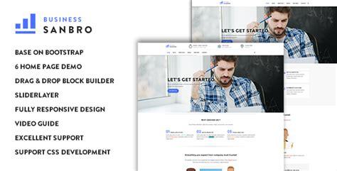 drupal themes responsive business sanbro responsive business drupal 8 theme 精博建站