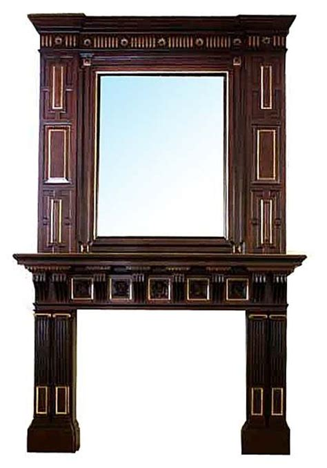 Fireplace Mantel Mirror by 301 Moved Permanently