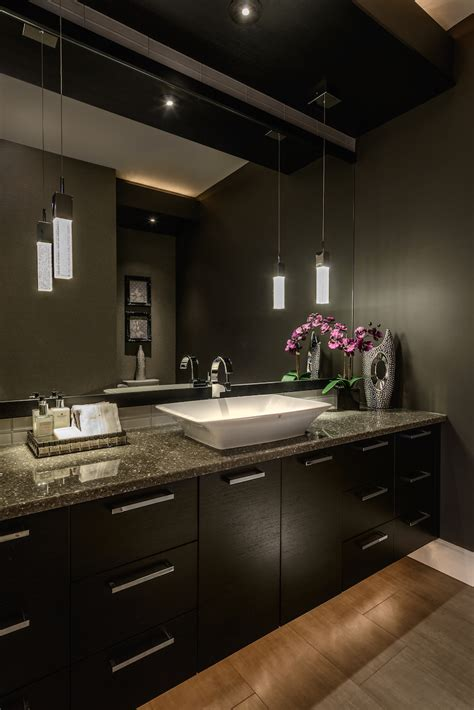 dark bathroom renovations specialist in victoria bc gives top 5 trends