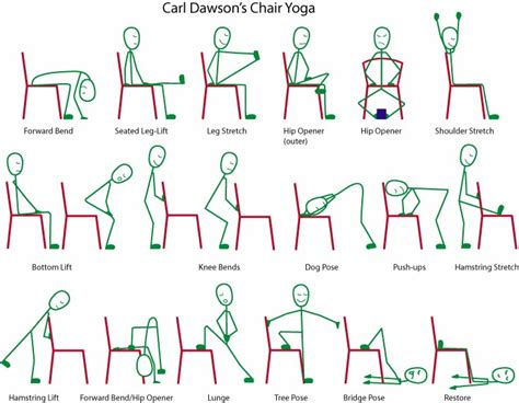 Printable Chair Yoga Poses | is blogging considered an innovative activity beginner
