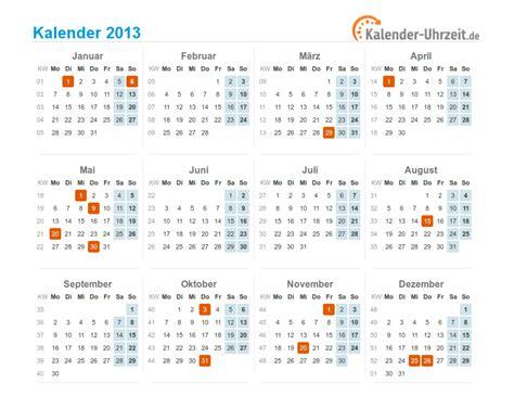 Kalender 201 Mit Feiertagen Kalender 2013 Mit Feiertagen