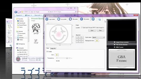 theme maker youtube r4 theme creator alice 0 8 demo youtube
