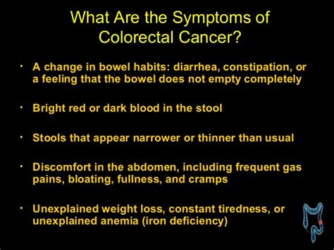 Blood In Stool Constipation by Knowing Cancer Of Colon