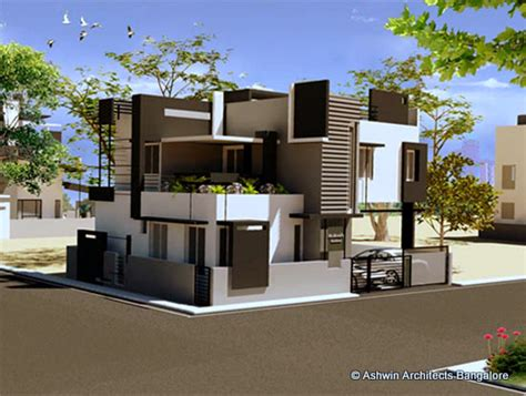 1bhk Floor Plan by Beautiful Front Elevation House Design By Ashwin Architects