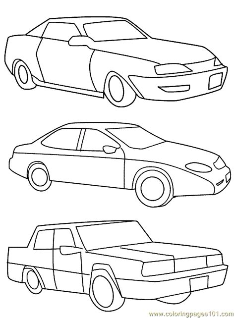 cars land coloring pages car coloring page 24 coloring page free land transport