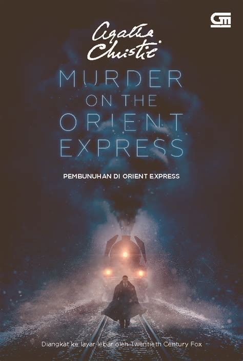pembunuhan di orient express murder on the orient express cover book by agatha christie