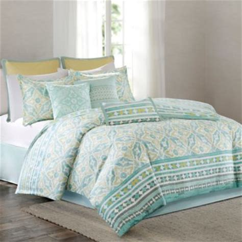 buy aqua king comforter set from bed bath beyond