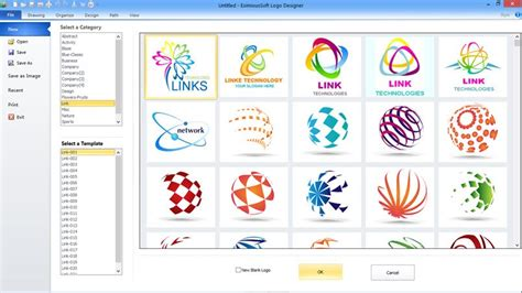 free design a logo software eximioussoft logo designer free download and review