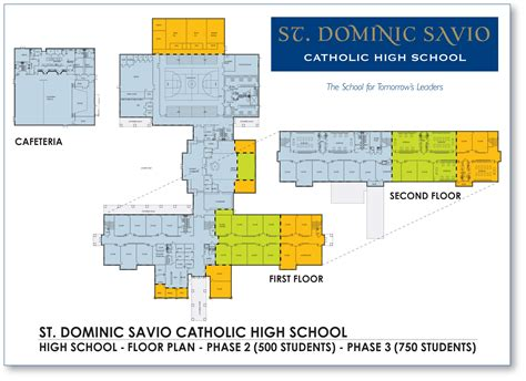 high school floor plans floor plan for st dominic savio high school a new