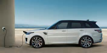 Electric Cars Range Future The Range Rover Sport In Hybrid Electric Suv Signals