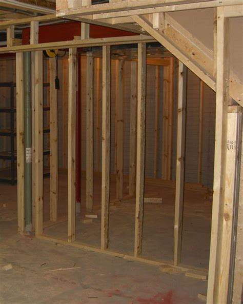 Top 25 Ideas About Framing A Basement On Pinterest Basement Concrete Wall Ideas
