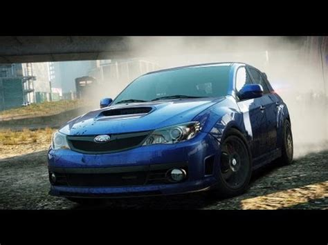 nfs most wanted wagen need for speed most wanted 2012 part 32 subaru impreza