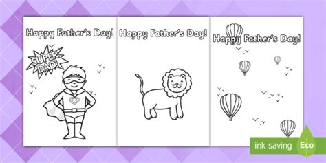 Cool Fathers Day Card Templates by S Day Card Template Colouring Design S Day