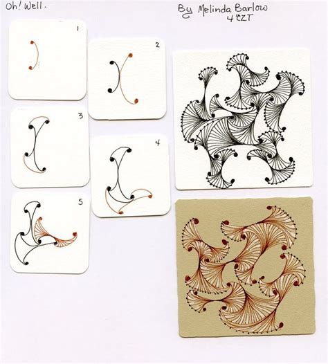 doodle pattern step by step 6612 best images about zentangle patterns on pinterest