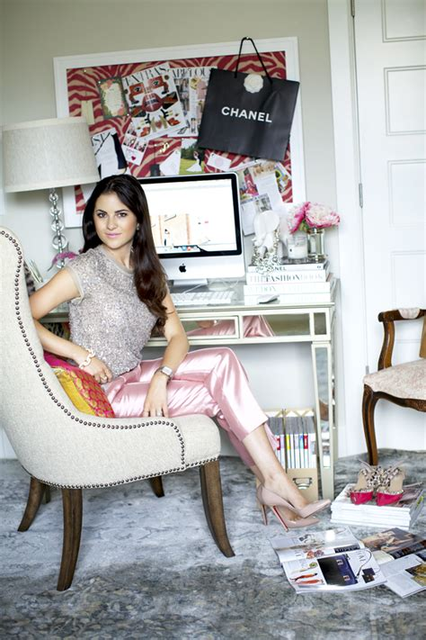 top home blogs the chic office spaces of our favorite business women