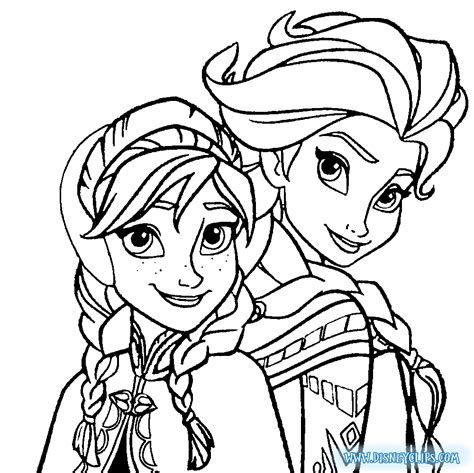 free coloring pages of free elsa