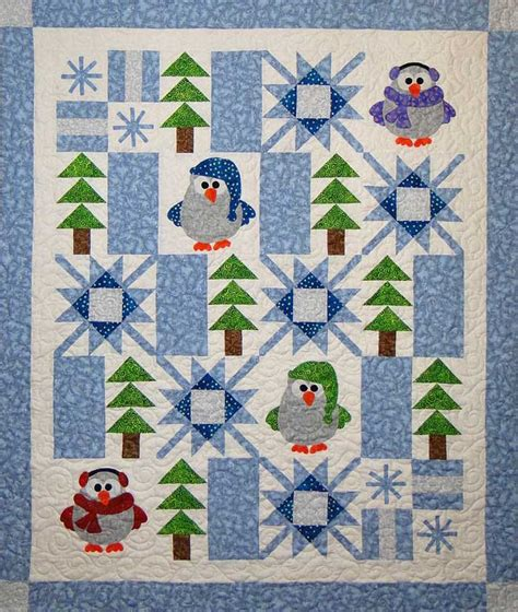 Winter Quilt Pattern winter whoo quilt pattern ctg 175 advanced beginner and throw
