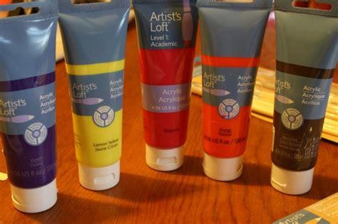 acrylic paint artist loft acrylics plus links to tutorials hodgepodge