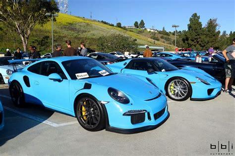 porsche riviera blue riviera blue porsche 918 spyder and 991 gt3 rs dpccars