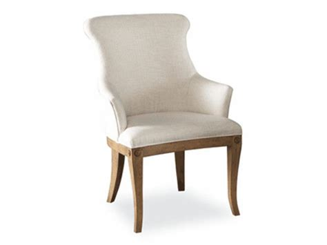 hickory white dining room upholstered arm chair 631 65