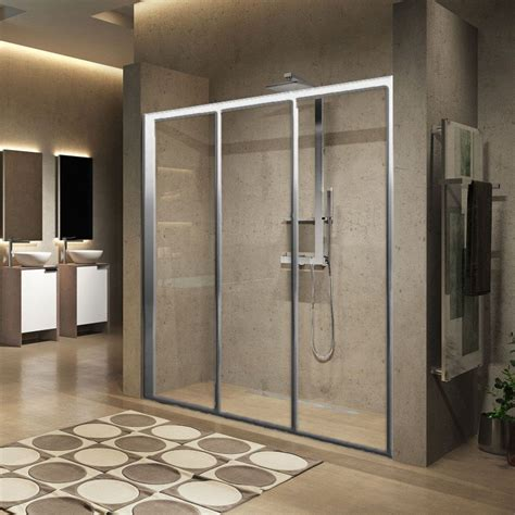 Novellini Lunes 2 0 3p Three Sliding Panel Shower Door Three Panel Shower Door